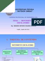 Sesión Mov Oscilatorio1-UPAO 2012II