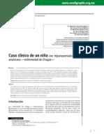 Caso clínico de de un niño con tripanosomiasis americana —enfermedad de Chagas—