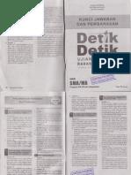 Kunci Jawaban Detik Detik Bahasa Indonesia