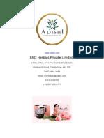 100 Percent Herbal