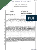 Hoffman v. Merck & Company, Inc. - Document No. 10