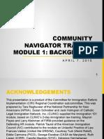 CN Training (English) - Module 1 - Background