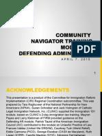 CN Training (English) - Module 4 - Defending Admin Relief