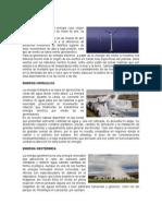 Energía eólica y de biomasa