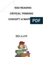 SPEED READING,Crt Think Mapping
