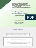 Matrices de Impacto Cruzado Leonardo