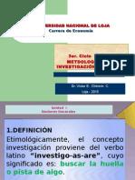 UNIDAD   1  METODOLOGÍA DE LA INVESTIGACIÓN CIENTÍFICA ASPECTOS GENERALES.pptx