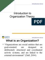 Theory of Organization