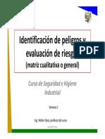 (a)Semana 2_Identificacion de peligros y evaluacion de riesgos IPERC(.pdf