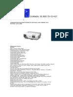 VP-01774 Videoproyector Epson Powerlite 910w