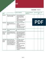 Office Risk Assessment Sample