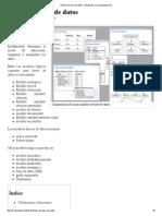 Modelo de Base de Datos