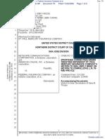 Netscape Communications Corporation et al v. Federal Insurance Company et al - Document No. 70