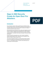 Forrester Gaps in SSH Security Create an Open Door for Attackers