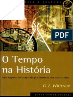 Whitrow. O Tempo Na História (Cap. 1 Ao 4)