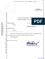 Moore v. Merck & Company, Inc. et al - Document No. 6