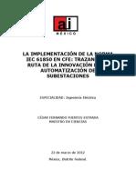 Implementación de Iec 61850