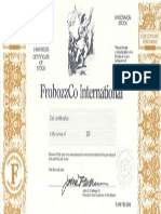 Zork 3 - Stock Certificate