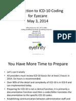 ICD 10 Training for Optometry