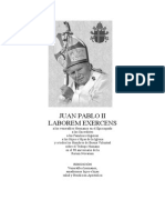 Carta Encíclica Laborem Exercens (Juan Pablo II)