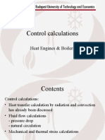 Circulation Control Calculation