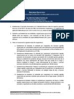 Resumen Ejecutivo Ley de Cooperativas 127-64