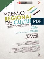 Premio Regional de Cultura 2015