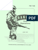 FM 07 85 Ranger Unit Operations Field Manual 1987