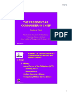 Power as Commander in Chief