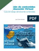 Produccion de contenidos para la educacion virtual