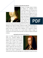 Biografía Fernando de Aragón