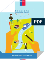Programa Simce 2015 Docentes Basica