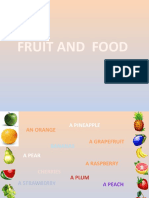 Fruit and Food