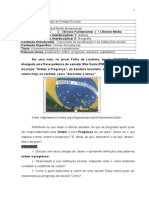 A Bandeira Brasileira e o Positivismo. Teorias Sociológicas
