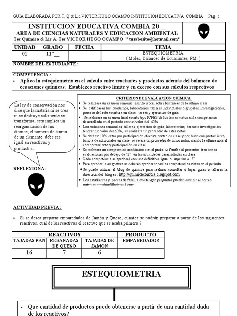 Contemporáneo Leyes De Los Gases De Hoja De Cálculo Respuestas ...