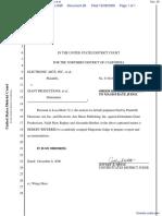 Electronic Arts Inc. et al v. Giant Productions et al - Document No. 26