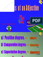 The Degrees of an Adjective.