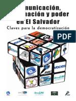 Comunicación Información y Poder en El Salvador