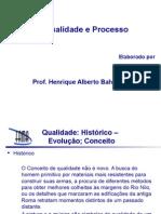 Aula 03 Qualidade e Processo