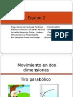 Presentacion Tiro Parabolico y practica