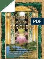 Wahrer Intellekt Im Sinne Des Quran
