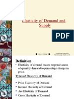 Elasticity of Demand 2015