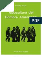 Geocultura Del Hombre Americano Rodolfo Kusch