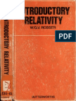 Rosser- INTRODUCTORY RELATIVITY