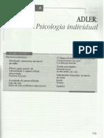 Adler - Teorias da Personalidade