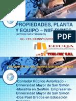 Propiedades, Planta y Equipo - NIIF PYMES