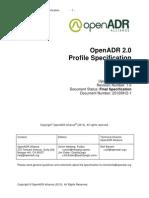 OpenADR 2 0b Profile Specification v1 0