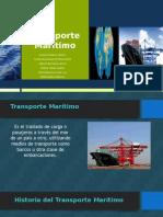 Transporte Marítimo Logística