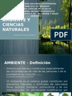 Ambiente y Ciencias Naturales
