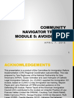 CN Training (English) - Module 5 - Avoiding UPL